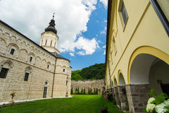 Monastery Jazak. Jazak monastery is a Serb Orthodox monastery on the Fruška Gora mountain in the northern Serbia, founded in 15th century Royalty Free Stock Photography