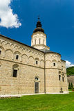 Monastery Jazak. Jazak monastery is a Serb Orthodox monastery on the Fruška Gora mountain in the northern Serbia, founded in 15th century Royalty Free Stock Photos