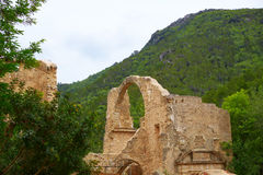 Monastery Jeronimo Nuestra senyora Murta Alzira Stock Images