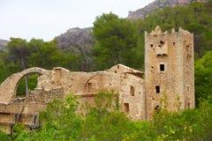Monastery Jeronimo Nuestra senyora Murta Alzira Stock Photos