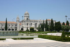 Monastery of Jeronimos. East wing Royalty Free Stock Image
