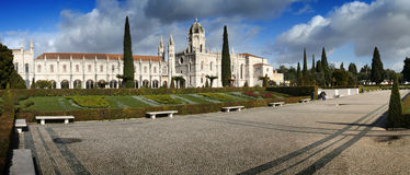 Monastery of Jeronimos Stock Photography