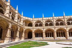 Monastery of Jeronimos in Lisbon, Portugal Stock Images