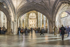 Monastery of Jeronimos Royalty Free Stock Images