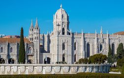 Monastery of Jeronimos, Lisbon, Portugal royalty free stock images