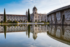 Monastery of Jeronimos in Lisbon Royalty Free Stock Image