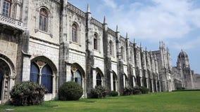 Monastery of jeronimos, lisbon Royalty Free Stock Image