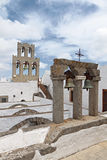 Monastery of John the Evangelist. Patmos island Royalty Free Stock Photos