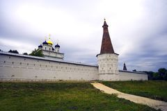 The monastery of Joseph Volotsky Volokolamsk Stock Photo