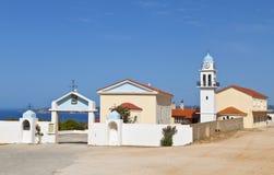 Monastery at Kefalonia in Greece Royalty Free Stock Photo