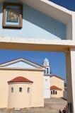 Monastery at Kefalonia in Greece Stock Photos