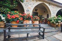 Monastery Kera Kardiotissa on Crete Island, Greece Stock Image