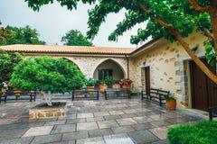Monastery Kera Kardiotissa on Crete Island, Greece Royalty Free Stock Image