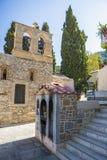 Monastery Kera Kardiotissa in the mountains of Crete. Greece Stock Image