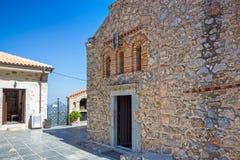 Monastery Kera Kardiotissa in the mountains of Crete. Greece Royalty Free Stock Photography