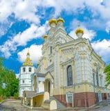 In Monastery of Kharkov Stock Photo