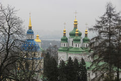 Monastery in kiev Stock Image