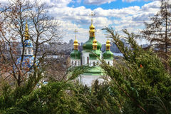 Monastery in kiev Royalty Free Stock Image