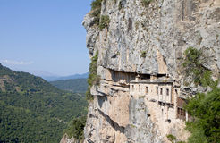 Monastery of Kipina in Greece Royalty Free Stock Photos