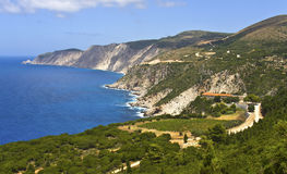 Monastery of 'Kipouraion' at Kefalonia Stock Image