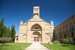 Monastery of la oliva Royalty Free Stock Image