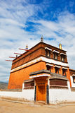 Monastery of Labrang Temple Royalty Free Stock Image
