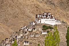 Monastery in Ladakh. Buddhist monastery of Rizong. It was established in 1831 by Lama Tsultim Nima under the Gelukpa order, at Ri-rdzong Royalty Free Stock Photography