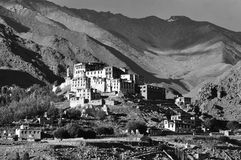 Monastery in Ladakh Stock Photography