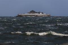 Munkholmen island near Trondheim stock images