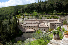 Monastery in Le Celle. Italy Royalty Free Stock Images