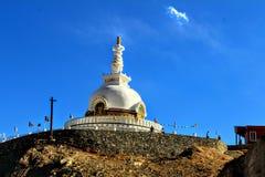 Monastery in Leh. Monastery leh blue sky architecture old beauty stock photo