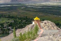 Monastery, Leh Ladakh India Aug 2017. Takthok Monastery, Leh Ladakh India Aug 2017 Royalty Free Stock Photo