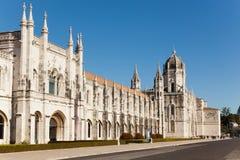 Monastery in Lisbon Stock Photography