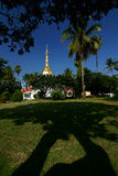 Monastery. This is  a  monastery of lumpang in thai royalty free stock photos