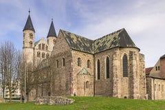 Monastery Magdeburg Stock Photography