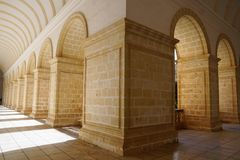 Monastery in malte Royalty Free Stock Image
