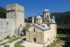 Monastery Manasija Royalty Free Stock Image