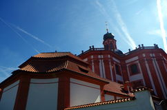 Monastery Marianska Tynice, Czech Republic. Baroque monastery Marianska Tynice, Czech Republic royalty free stock photo