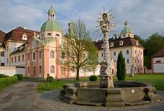 Monastery Mariental,Germany Stock Image