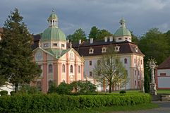 Monastery Mariental,Germany Stock Images