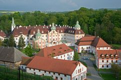 Monastery Mariental,Germany Royalty Free Stock Images