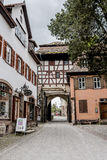 Monastery in Maulbronn in June 03 2014 Royalty Free Stock Photo