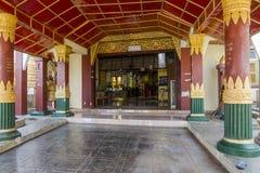 Monastery in Maynmar Royalty Free Stock Photos
