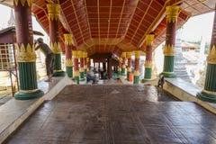 Monastery in Maynmar stock photo