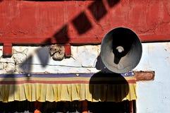 Monastery megaphone Stock Image