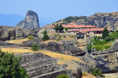 Monastery on Meteora Royalty Free Stock Photography