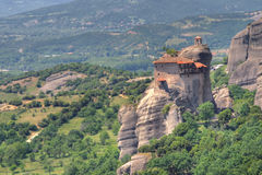 Monastery of Meteora Stock Photo