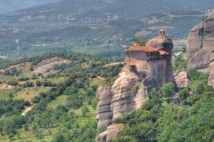 Monastery of Meteora. In Greece stock photo