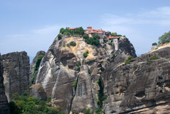 Monastery in Meteora Royalty Free Stock Image