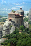 Monastery in Meteora Royalty Free Stock Photography